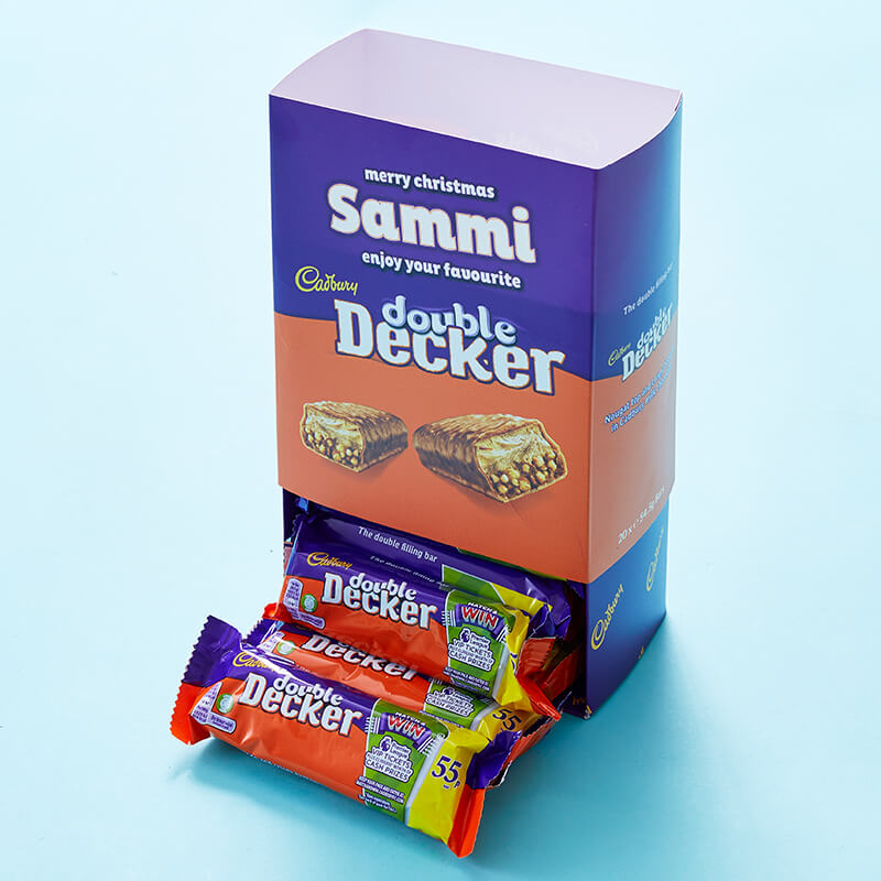 Personalised Favourites Box - Double Decker