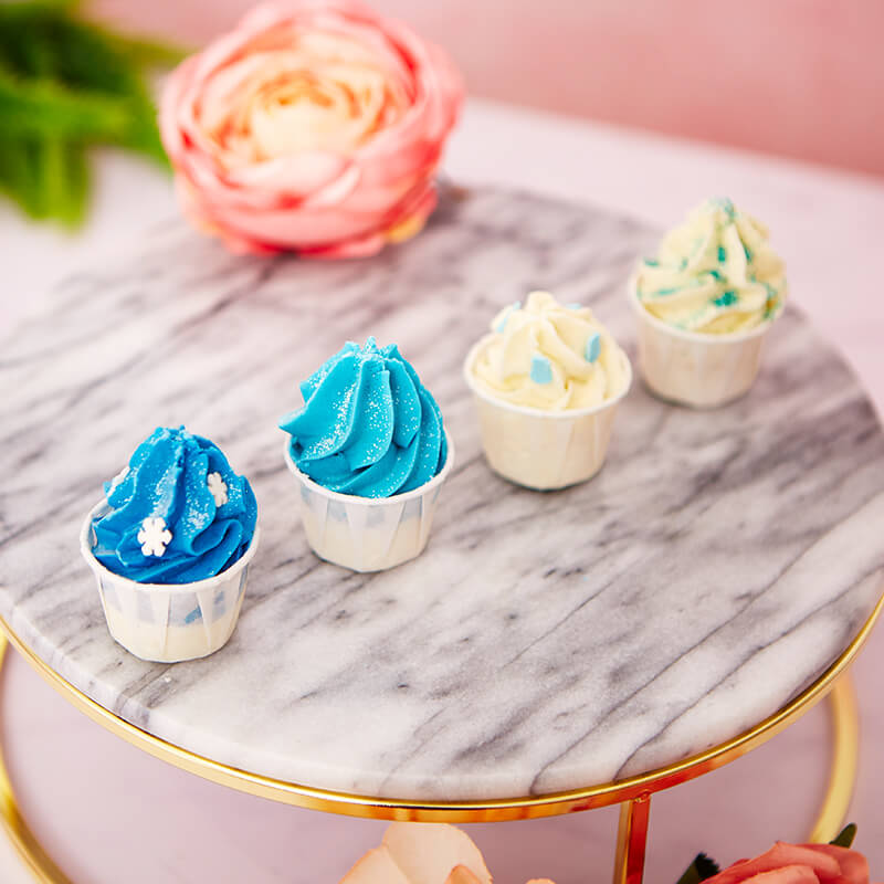 Frosted Bath Melts Collection