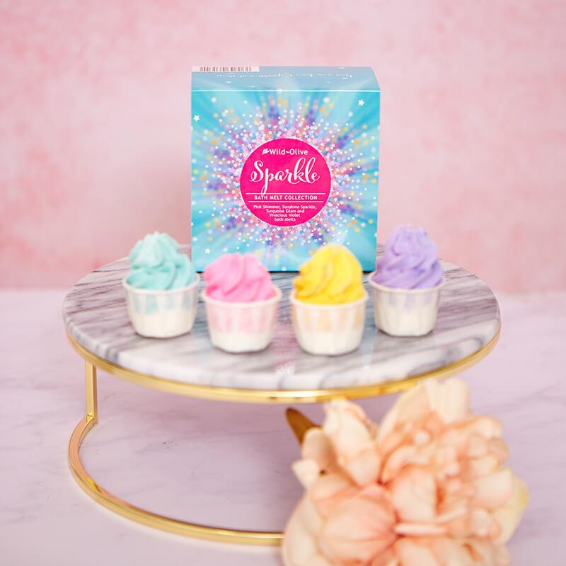 Sparkle Bath Melts Collection