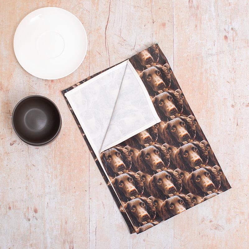 Personalised Photo Tea Towel