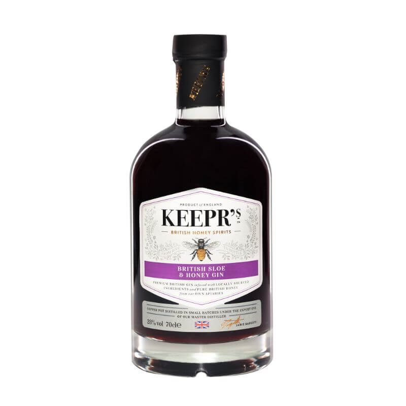 Personalised British Sloe And Honey Gin