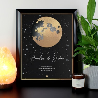 Personalised My Everything Black Framed Print