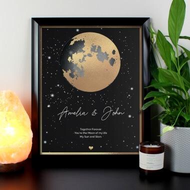 Personalised My Everything Black Framed Print