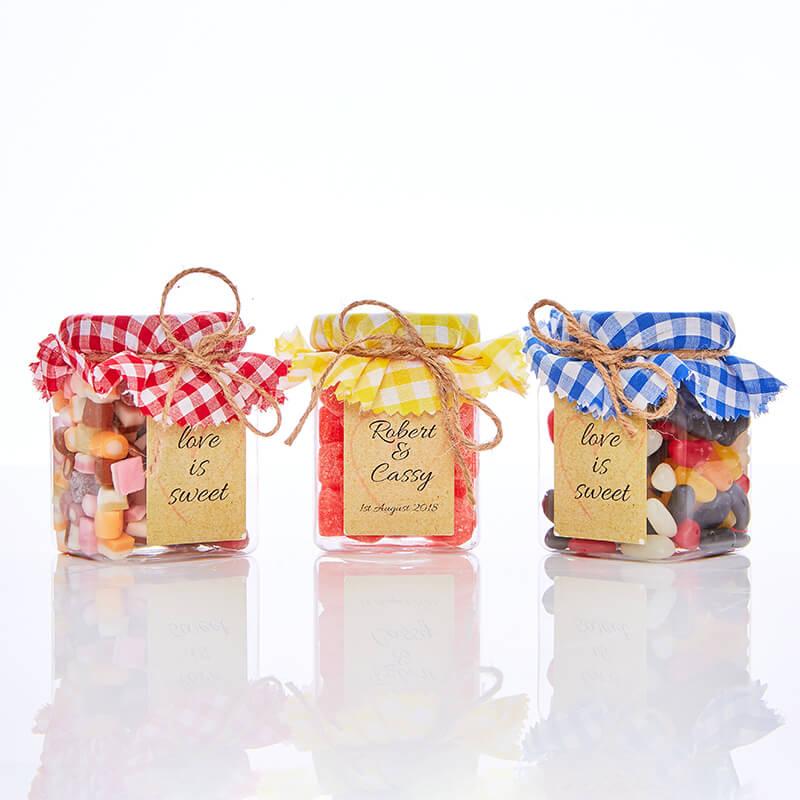 Personalised Trio of Retro Sweets