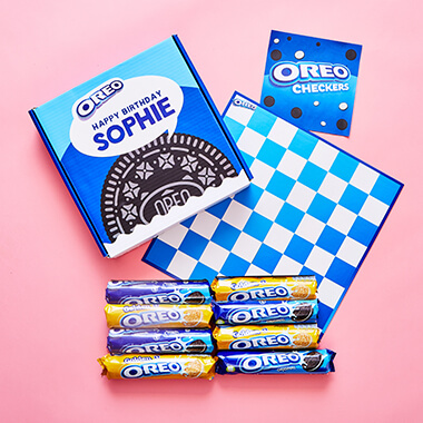 Personalised Oreo Checkers Gift Box