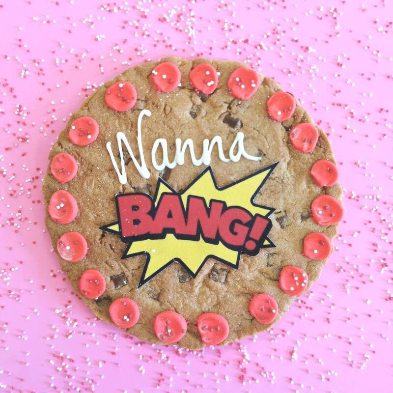 Wanna Bang Chocolate Chip Cookie