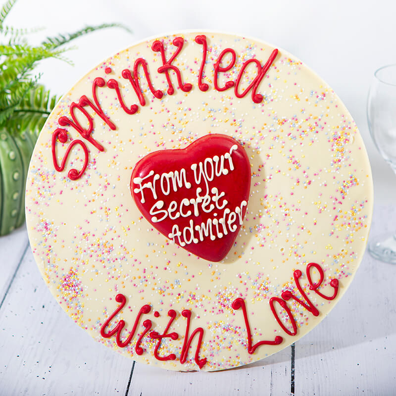 Personalised 'Sprinkled With Love' Giant Jazzie