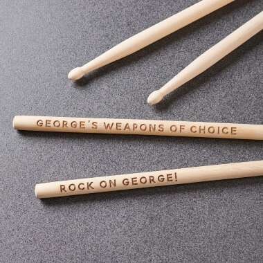 Personalised Drum Sticks