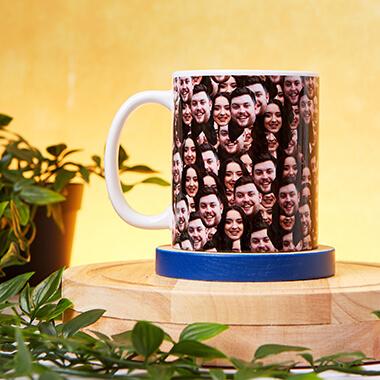 Personalised Multi Face Mug