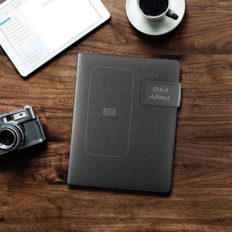 Personalised Powerbank USB Notepad