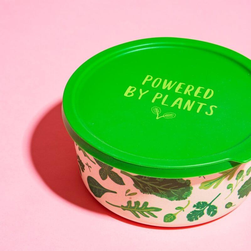 Powered By Plants Lunch Box