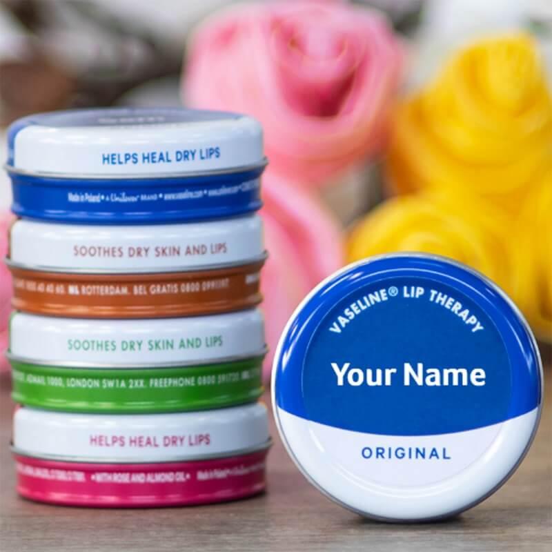 Personalised Vaseline Original Tin