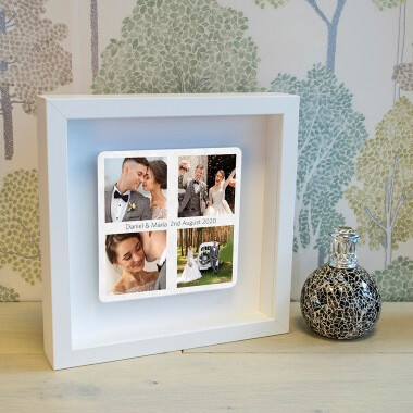 Personalised Favourite Photos Box Frame