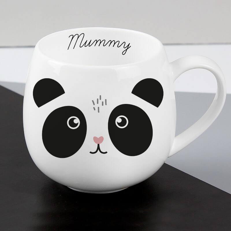 Personalised Cute Panda Shape Mug