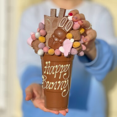 Personalised Easter Chocolate Smash Cup