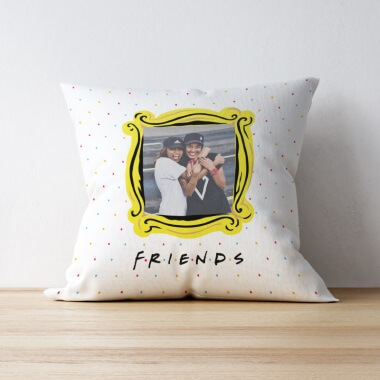 Personalised Friends Photo Cushion