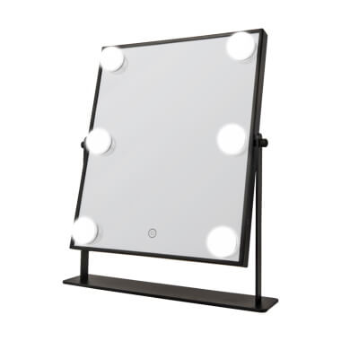 LED Hollywood Mirror - Black