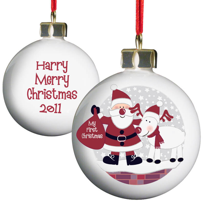 Personalised Christmas Bauble  Baby's First Christmas. Red And White Christmas Outdoor Decorations. Vintage Christmas Decorations Images. Luxury Christmas Ceiling Decorations. Indoor Christmas Decorations Images. Christmas Tree Decorating Jobs. Homemade Christmas Ornaments Newborn. Christmas Tree And Decorations Pack. Christmas Decorations Ideas For Door