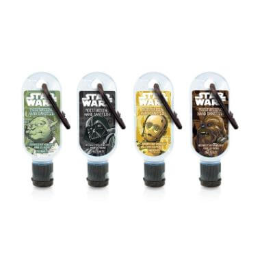 Star Wars Hand Sanitizer Clip And Clean