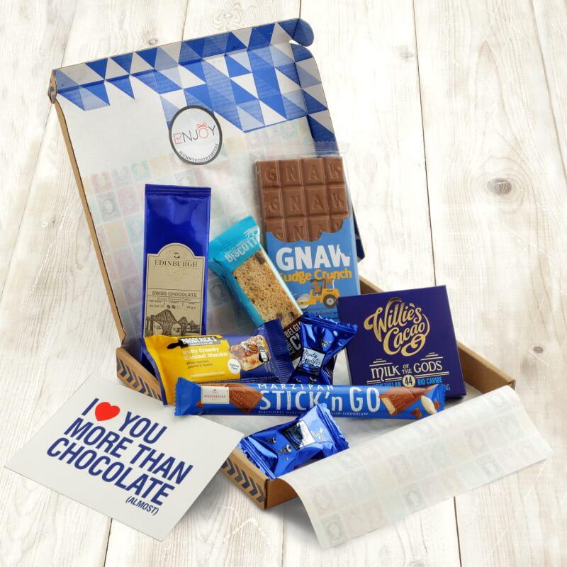 Chocolate Lover Letterbox Hamper
