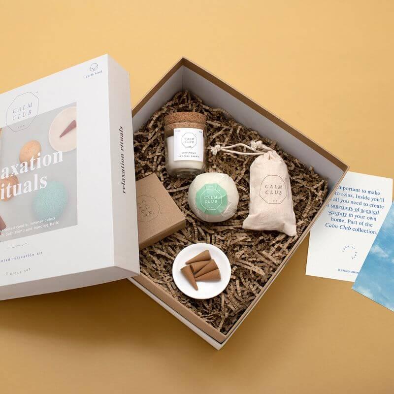 Calm Club Relaxation Rituals Kit