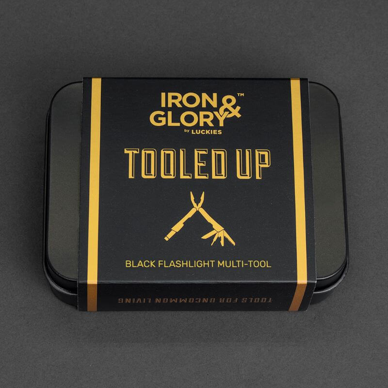 Iron And Glory Tooled Up - Black