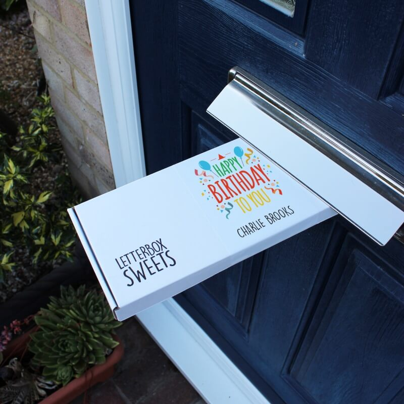 Personalised Birthday Letterbox Sweets