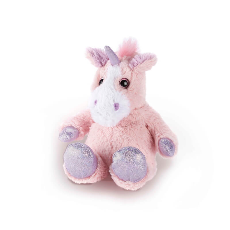 Warmies Microwavable Plush Toy - Pink Sparkly Unicorn