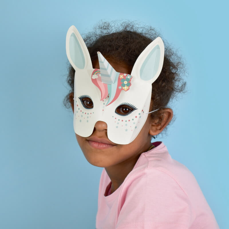 Create Your Own Magical Unicorn Masks