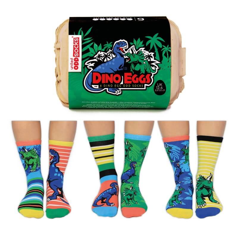 Dino Eggs Boys Socks