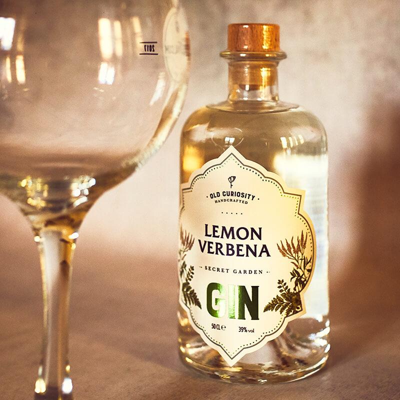 The Old Curiosity Secret Garden Gin - Lemon Verbena - 50cl