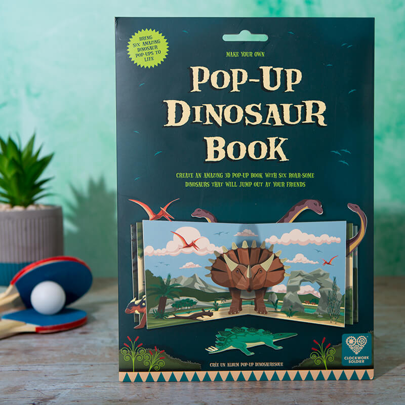 Make Your Own Pop-Up Dinosaur Book