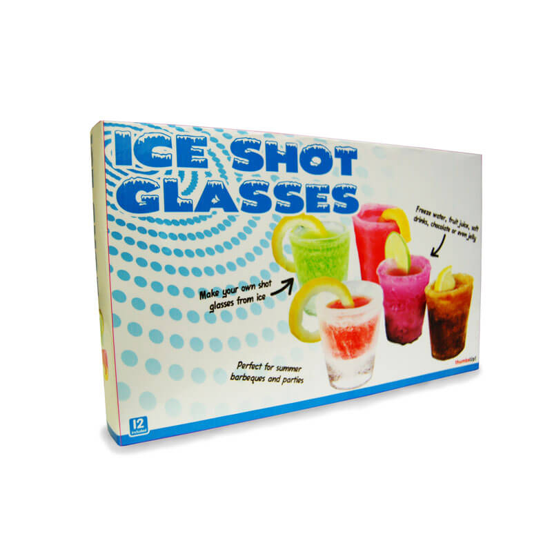 Shot Glasses Ice Mould (12 Pack)