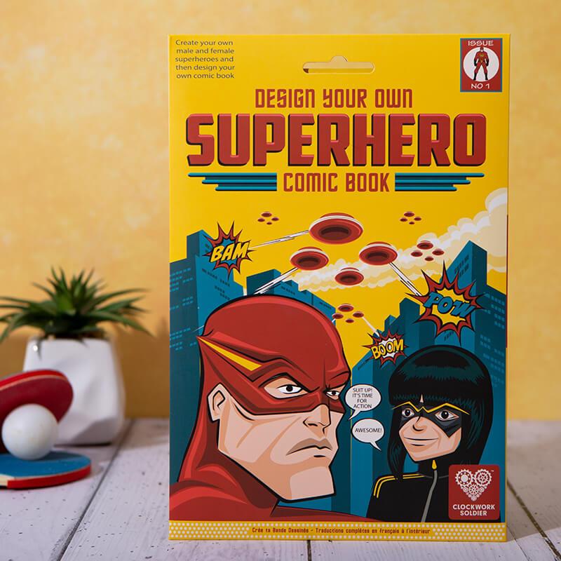 Design Your Own Superhero Comic Book