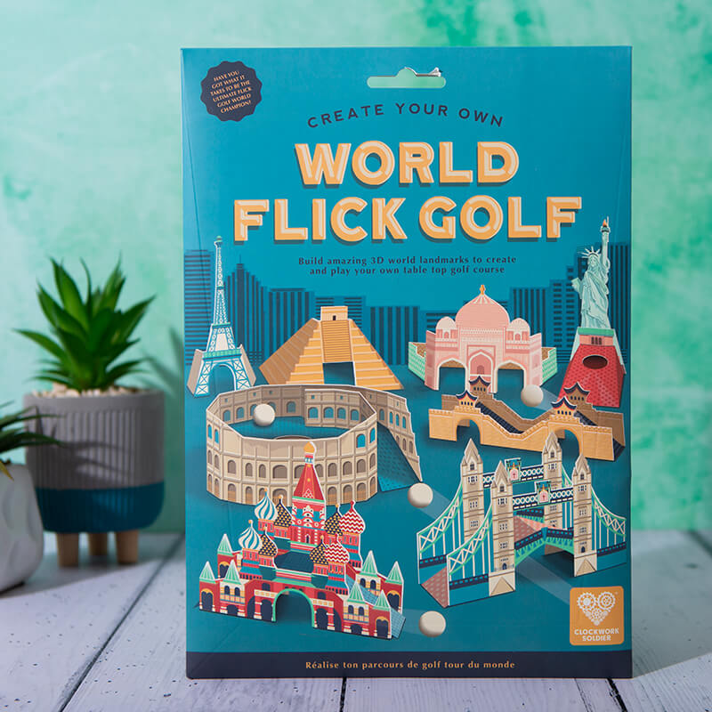 Create Your Own World Flick Golf