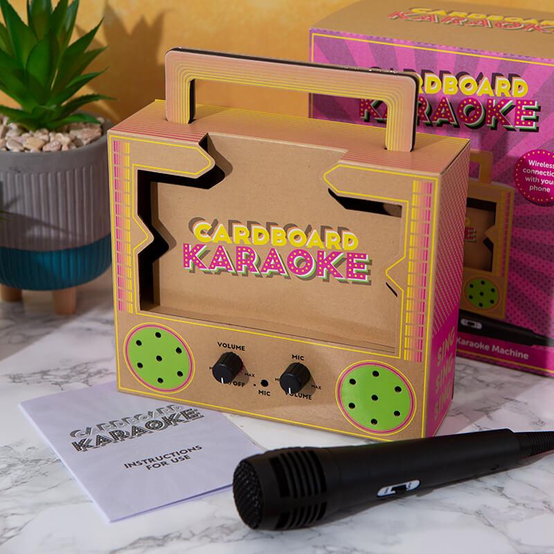 Make Your Own Cardboard Karaoke