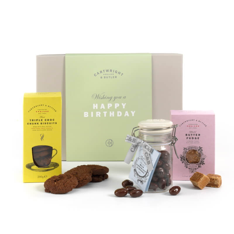 Cartwright And Butler Happy Birthday Gift Box