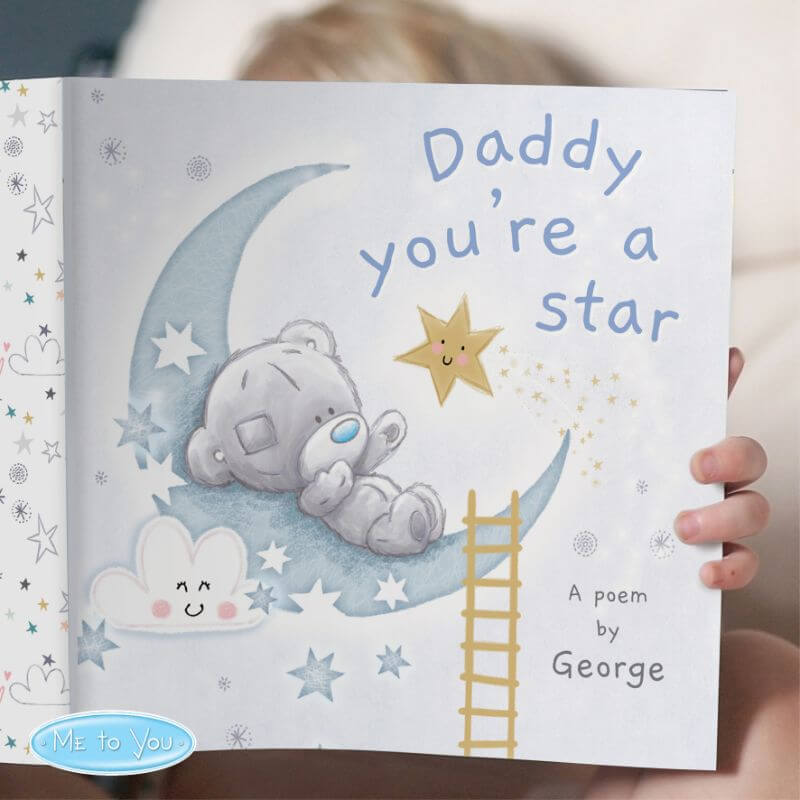 Personalised Tiny Tatty Teddy Daddy You're A Star Book