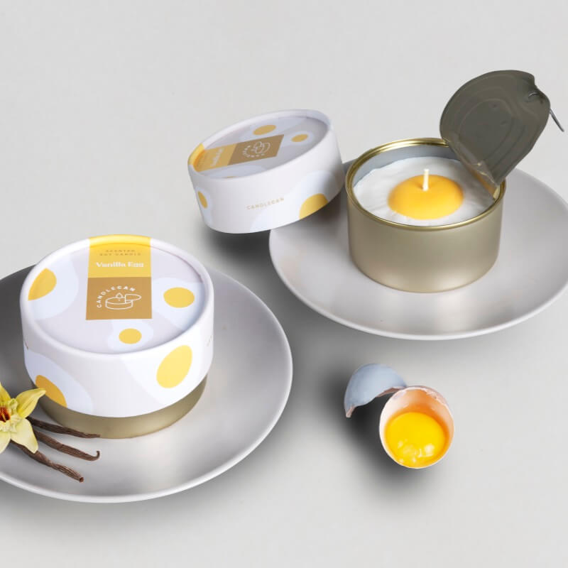 Candle Can - Vanilla Egg