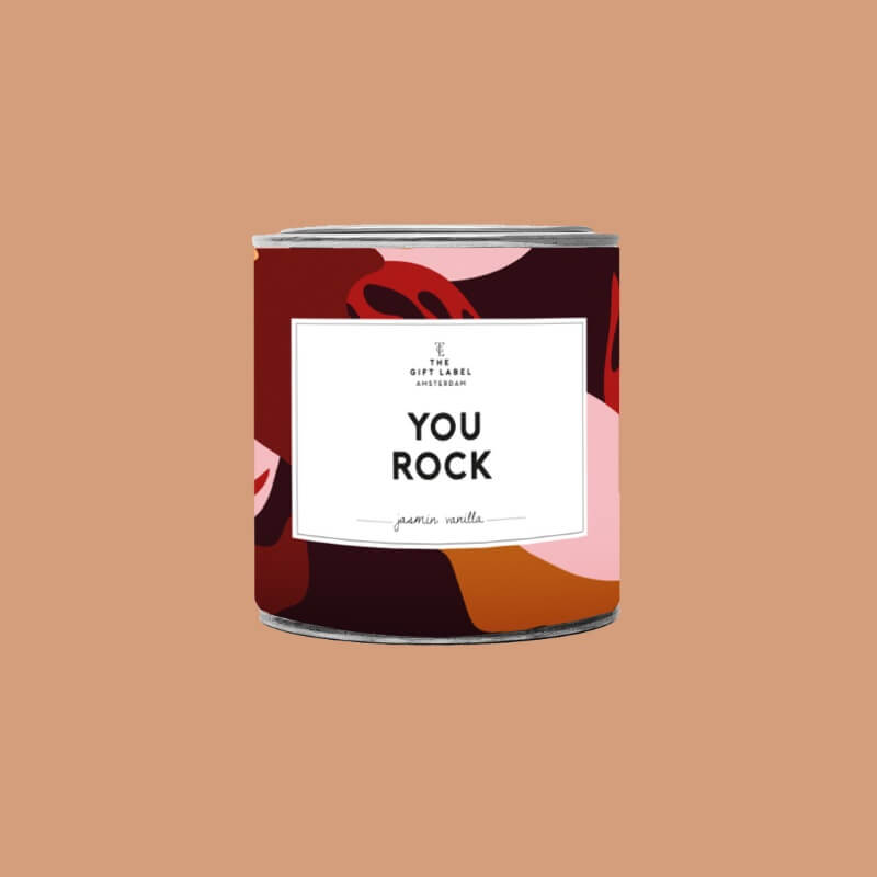 You Rock - Large Scented Candle Tin