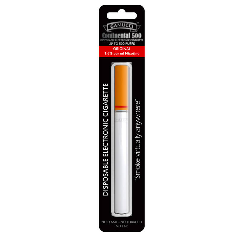 Disposable Electronic Cigarette - Gamucci Continental