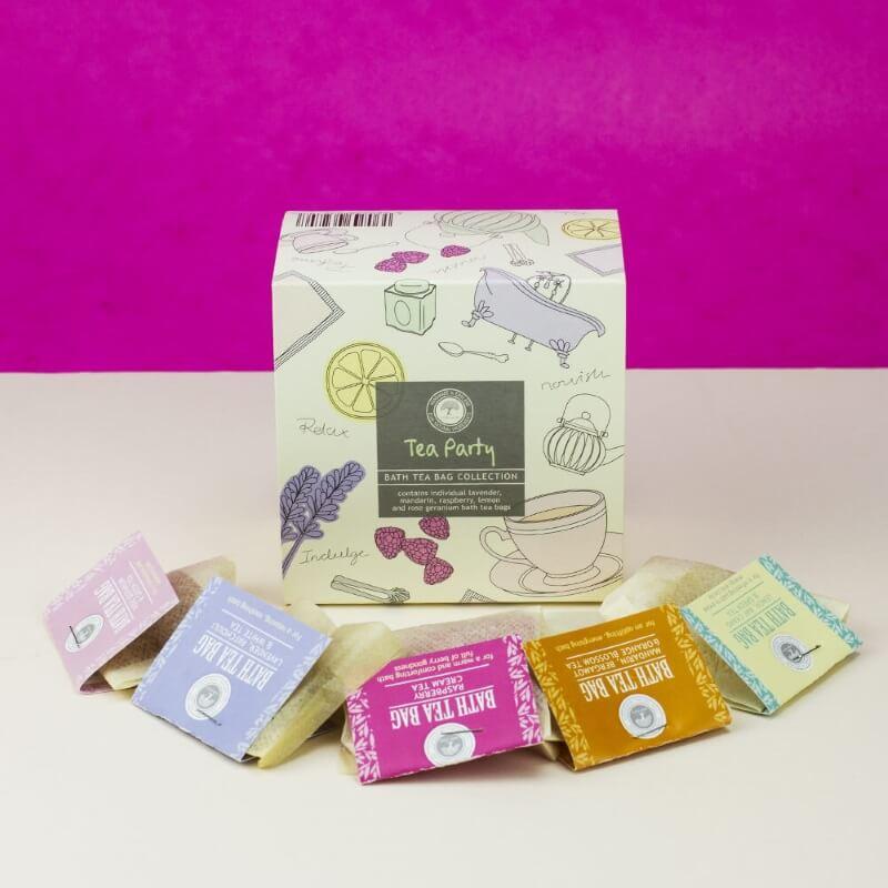 Bath Tea Bag Box