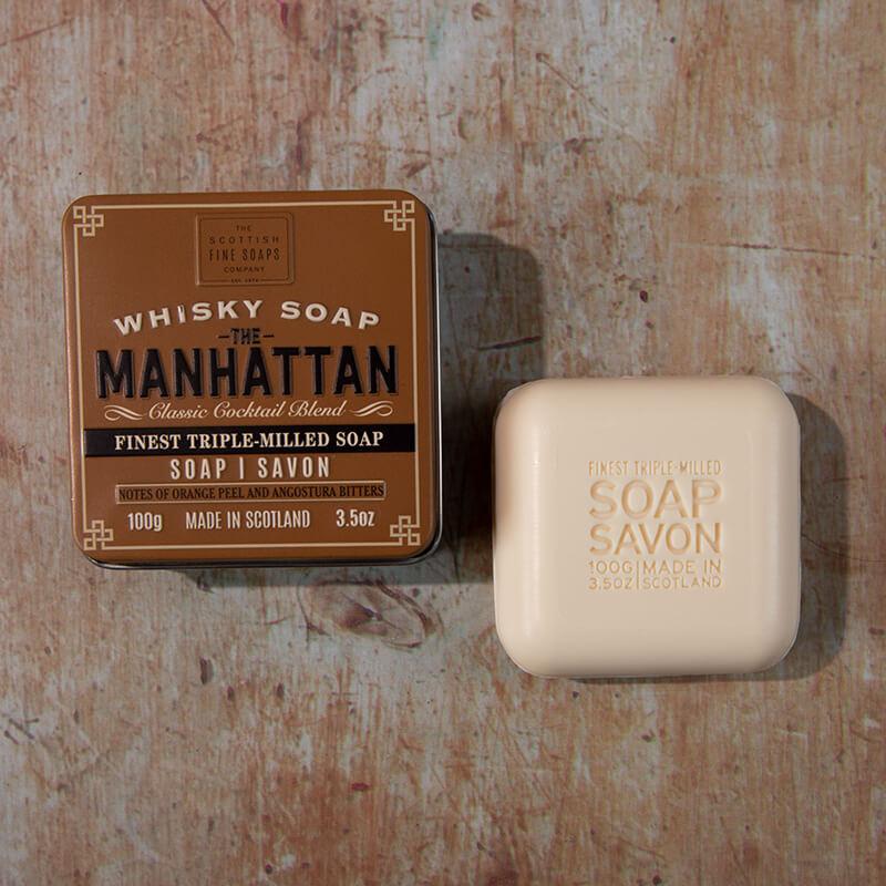 Men's Manhattan Whisky Soap