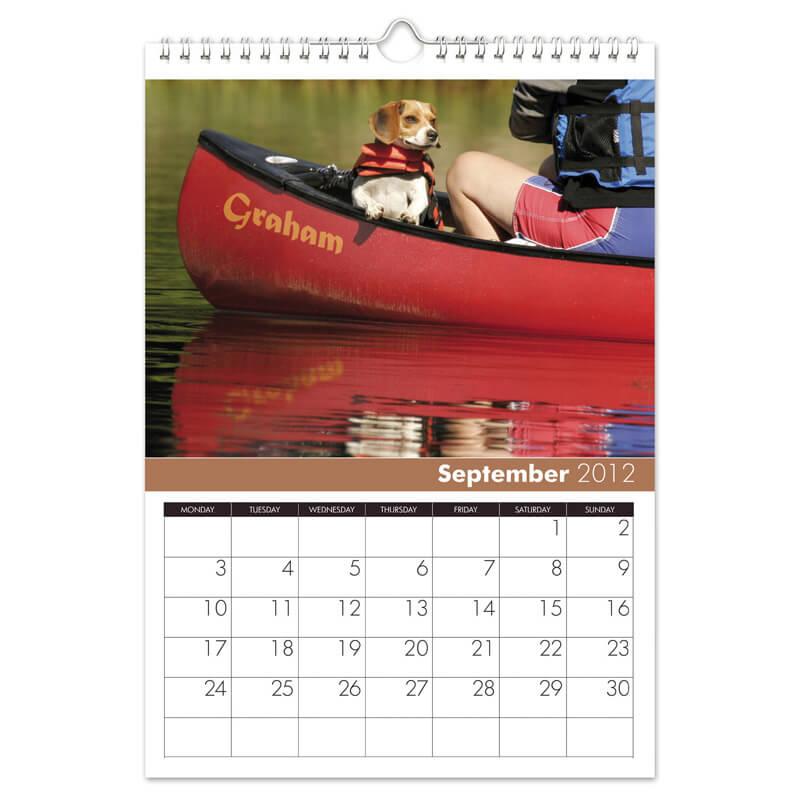 Dogs Personalised Calendar