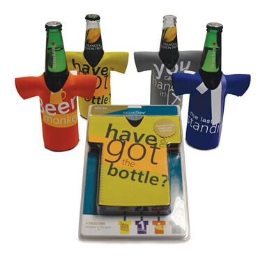 Beer Bottle Chillers - Have you got the bottle