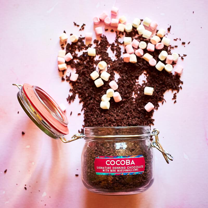 Hot Chocolate Jar with Mini Marshmallows