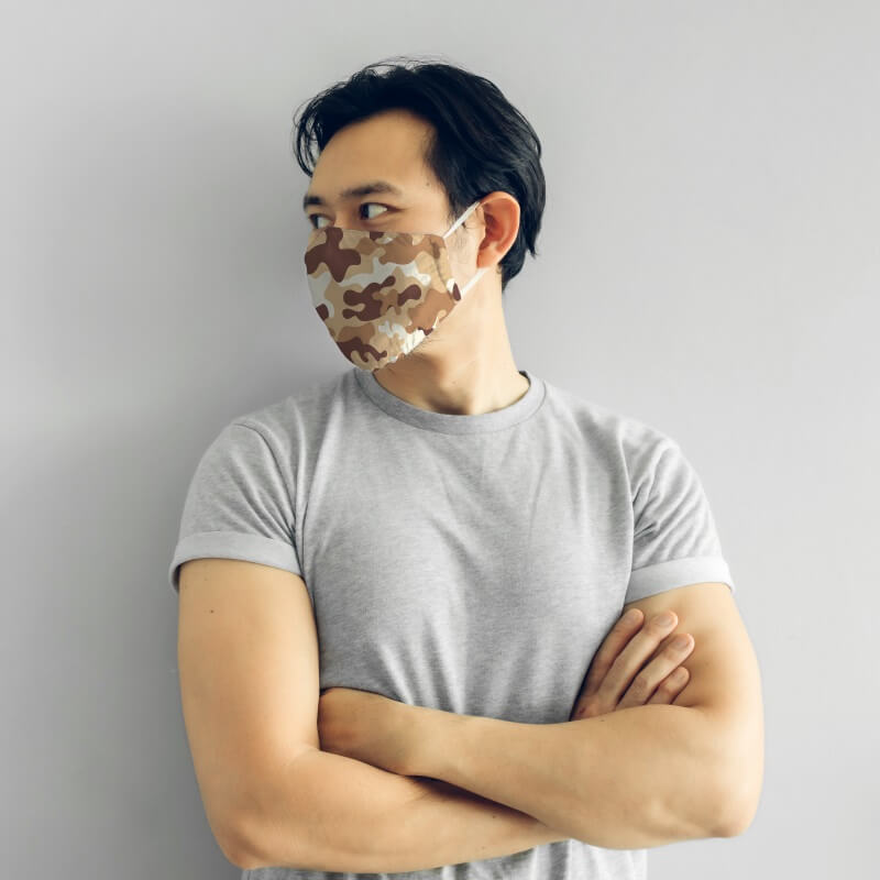 Face Mask - Camouflage Prints