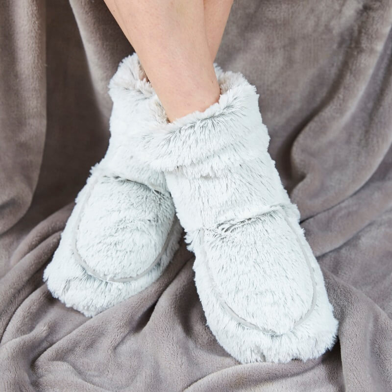 Cosy Microwaveable Boots - Grey
