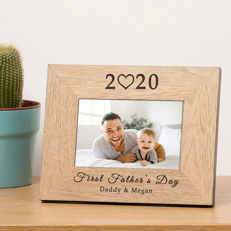 Personalised 2020 Father's Day Photo Frame