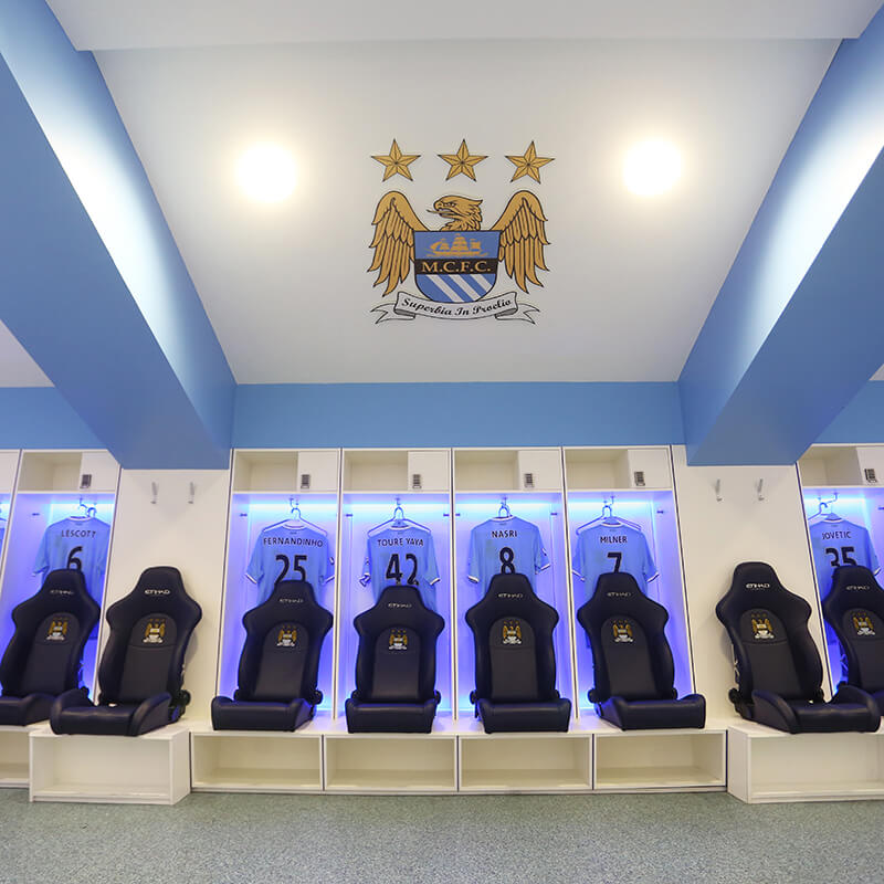 Manchester City Eithiad Stadium Tour For One Adult and One Child